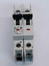 Eaton FAZ-D5/2-NA Circuit Breaker 5A 2-Pole 480Y/277VAC 96VDC 277V - $37.24