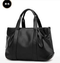Simple Leather Women Shoulder Bags Handbags Large Tote Bags L234-1 - $37.99