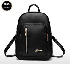 Medium Leather Women Backpacks Students School Backpacks K235-1 - $39.99