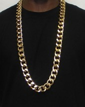 Gold Plated XL Miami Cuban Chain 20mm x 34 inches - FILLED - High Quality - $22.76