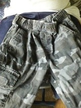 Place Size 10 Gray Camo Cargo Pants - $9.87