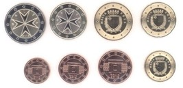 2016 Malta Euro Coins Set Muenzen Offizielen Serie Uncirculated - $12.00