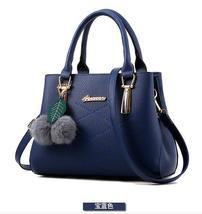 Mixed Color Leather Handbags Shoulder Bags Medium Tote Bags Handbags K236-7 - $38.99