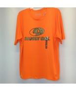 Mossy Oak Shirt XL Orange Logo Staghorn Creek NWT Short Sleeve Pullover - $28.66