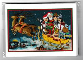 NEW 10 BEATLES CHRISTMAS POSTCARDS ~ McCARTNEY LENNON HARRISON - £8.16 GBP