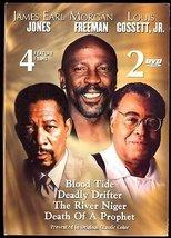 4 GREAT DVD Movies Starring JONES, FREEMAN & GOSSETT JR - $9.99