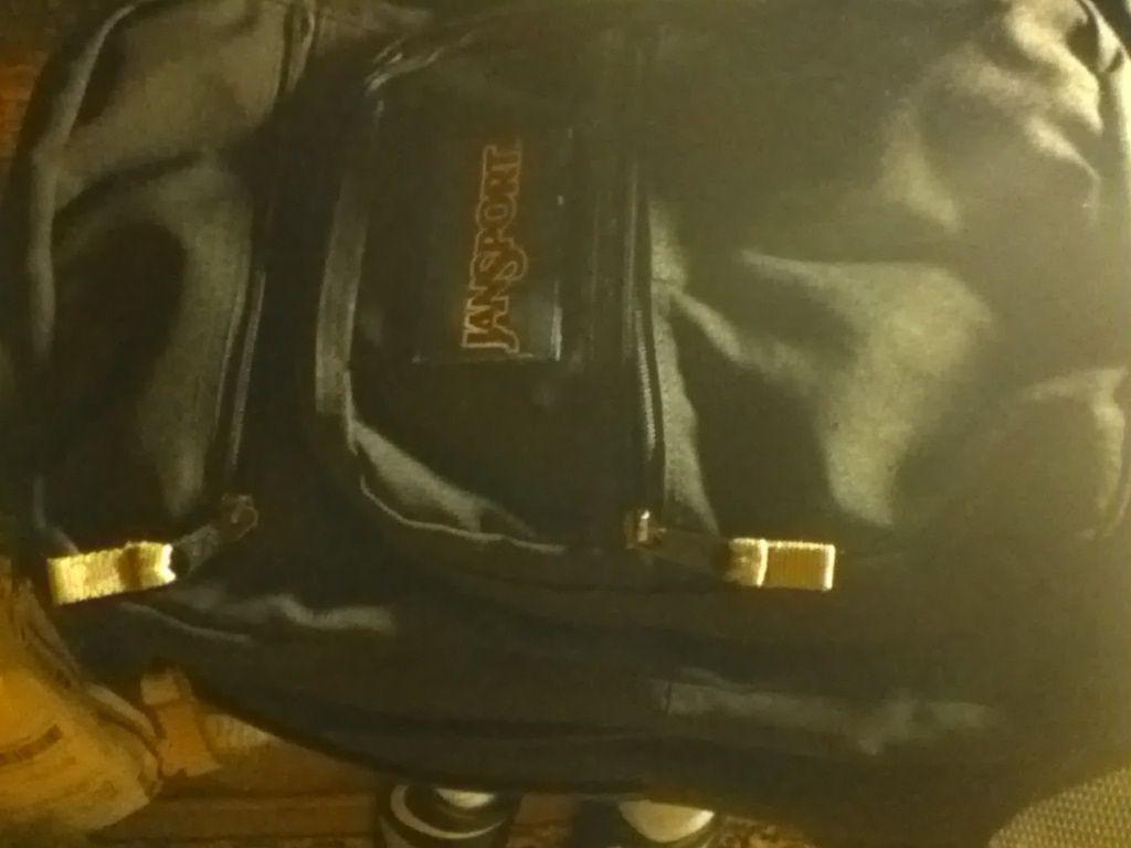 Jansport BLACK book bag