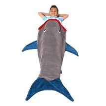 Shark Tail Blanket - Super Soft & Warm Perfect Gift for Kids & Teens , G... - $46.71