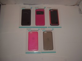 NEW Accellorize iPhone 6+ Protective Phone Cases(Lot of 5)Pink,Black,Sna... - $17.58