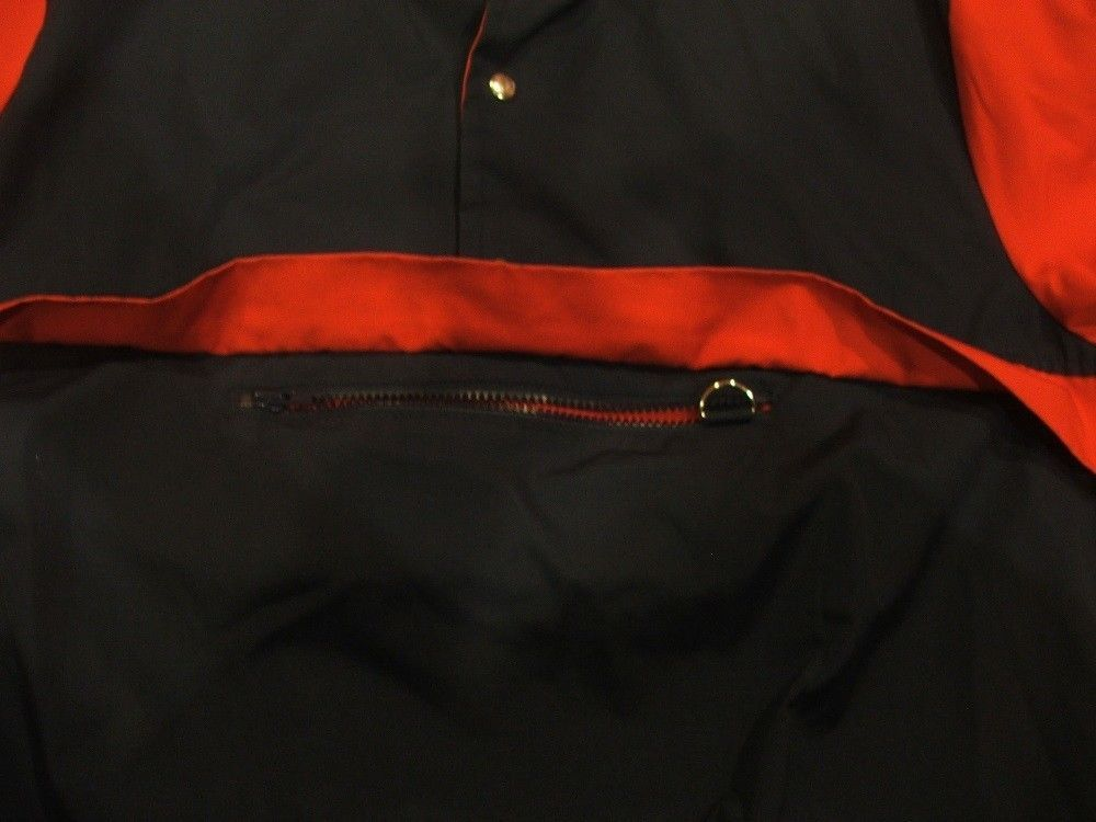 Ossi Blue & Red Light Weight Winter Ski Jacket Pullover Size XL Mens Coat image 4