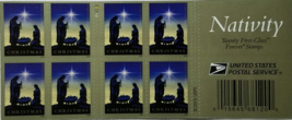 NATIVITY First Class (USPS) FOREVER STAMPS 20 - $13.95