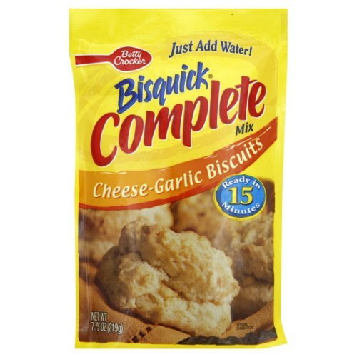 Bisquick Complete Mix Cheese-garlic Biscuits 7.75 Oz 12