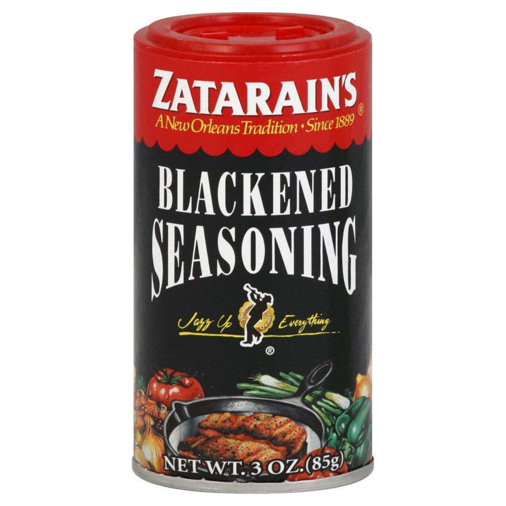 Zatarains blackened seasoning 3 oz pack of 3 for Blackened fish seasoning