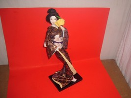 Japanese Buke-Onna Doll,Figurine,Warrior's Wife... - $6.79