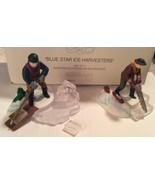 Dept 56 Heritage Village Collection Retired Blue Star Ice Harvesters 5650-2 - $15.99