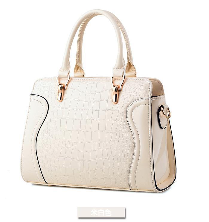 Fashion Leather Women Handbags Large Shoulder Bags Tote Bags P246-1