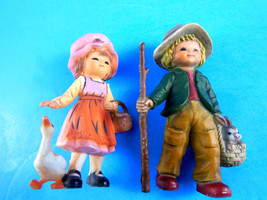 "Vintage Hong Kong 3.25"" Plastic Country Boy wit... - $8.41"