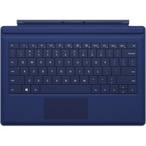 Microsoft Keyboard/Cover Case Tablet - Blue - Bump Resistant, Scratch Re... - $78.09