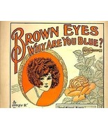 1920s FOXTROT Brown Eyes, Why Are You Blue? She... - $13.99
