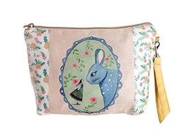 Cute And Funny Rabbit Canvas Cosmetic Bags/Purse
