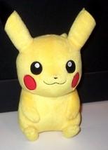 LICENSED (NOT China illegal copy) VINTAGE TOMY Pokemon Pikachu plush abo... - $16.99