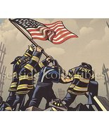 HEROES by Chris Gall 2004 NEW YORK SEPTEMBER 11 Public Service Heroes Bo... - $14.99