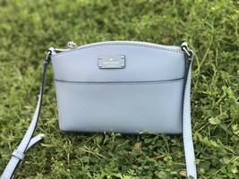NWT Kate Spade Millie Crossbody Bag Blue Dawn Leather Bag - $97.99