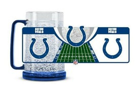 Indianapolis Colts 16 oz NFL Crystal Freezer Mug - New - $19.99