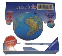 Ravensburger Earth Puzzleball 540 Puzzle pcs World Globe w/ Display Stan... - $49.99