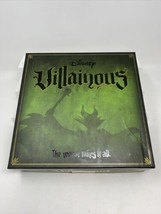 Disney Villainous Strategy Board Game 2018 Complete Disney Villains  - $29.69
