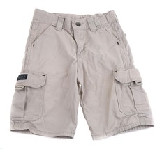 WRG Wrangler JEANS CoKhaki Boys Pocket Shorts 6 7 8 - $3.95