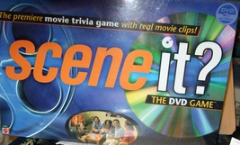 Board Game Scene It? Movie Trivia Game Movie Clips Test Your Knowledge  - $20.00