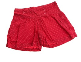 Gap Kids Red Polka Dot Girls Sailor Shorts 12 16 - $4.94