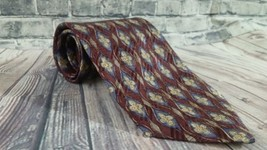 Robert Talbott Best of Class Floral Red Italian Silk Neck Tie Men's Made... - $13.45