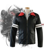 Prototype Alex Mercer Jacket Embroidered Synthetic leathe Hoodie Cosplay... - $48.51+