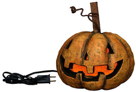 Lighted Traditional Pumpkin Head Rustic Antique Style Primitives by Kath... - £26.31 GBP