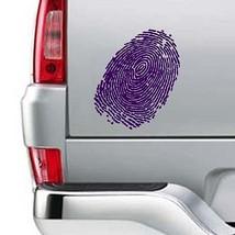"""Fingerprint Design Vinyl Sticker Decal 15""""h x 9.5""""w - $12.99"""