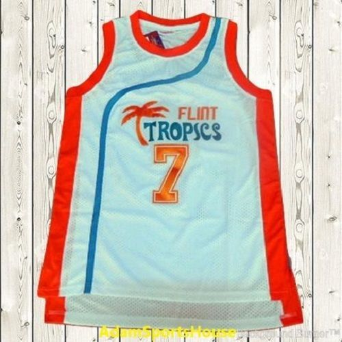 S l1600. S l1600. Previous. Coffee Black Semi-Pro Flint Tropics Movie Jersey  Mens Basketball Stitched White da6063e47