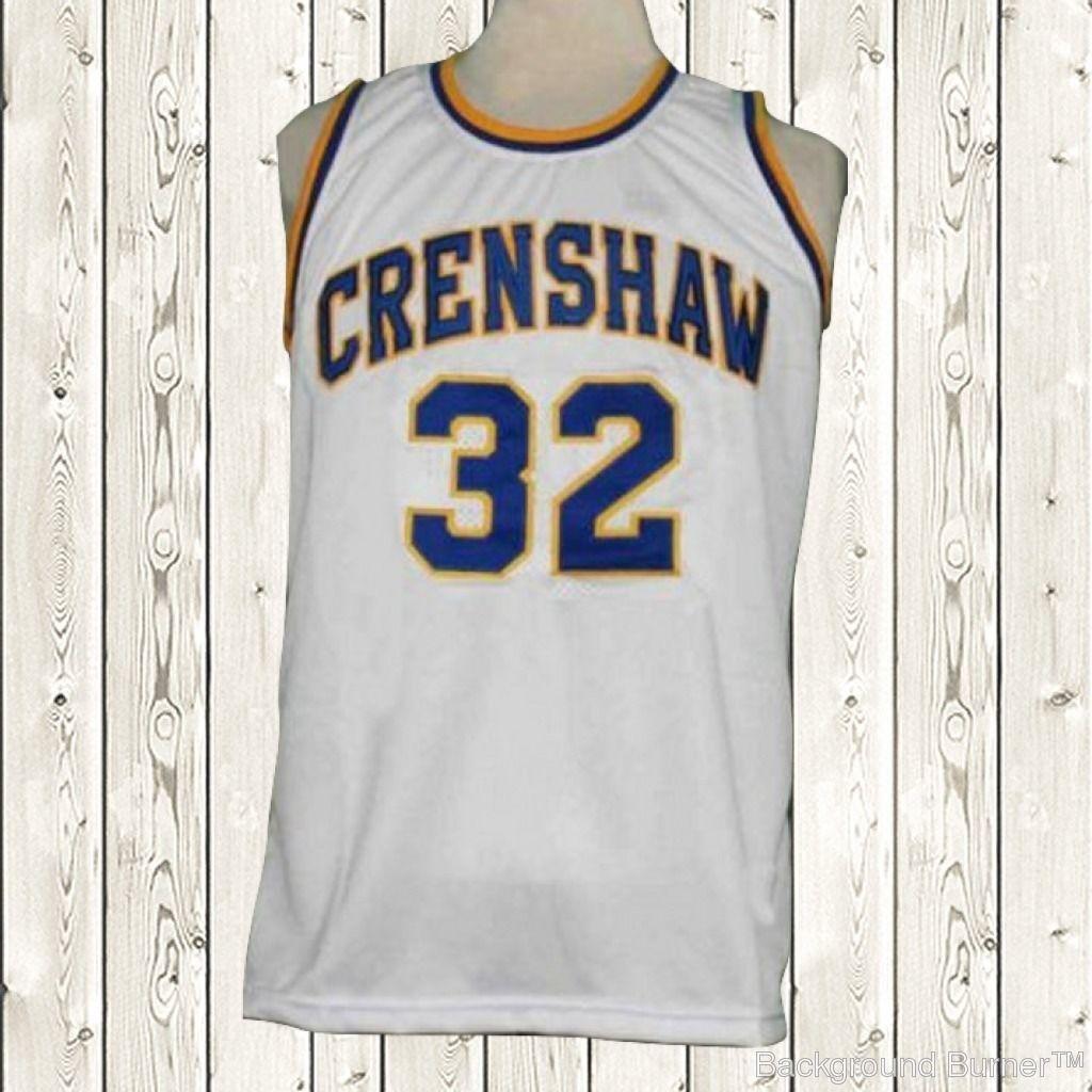 S l1600. S l1600. Previous. Sanaa Lathan Monica Wright Basketball Jersey  32  High School Crenshaw White New 1d233e219