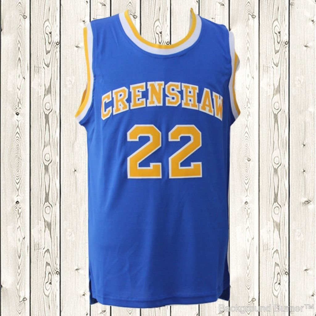 754ac6711769 S l1600. S l1600. Quincy McCall Basketball Jersey Omar Epps  22 High Scool  Top Stitched Blue New