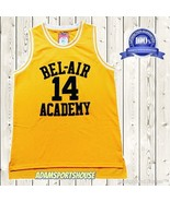 THE FRESH PRINCE OF BEL-AIR Bel Air Basketball Jersey Will Smith Stitche... - $25.99