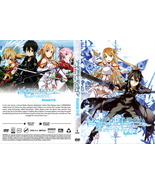 DVD SWORD ART ONLINE SEASON 1 - 2  COMPLETE BOXSET  - ENGLISH VERSION & ... - $29.99