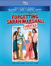 Forgetting Sarah Marshall (Blu-ray/DVD, 2011, 2-Disc Set, With Tech Supp... - $8.00