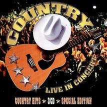 Country: Live in Concert - 3 CDs Assorted Artists (CD, 2008) - €12,38 EUR