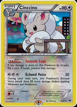Cinccino 85/99 Holo Rare Next Destinies Pokemon Card - $1.09