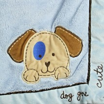 Sandra Magsamen Baby Blue Blanket Dog Gone Cute... - $33.01 CAD