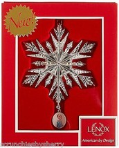 Disney Frozen Elsa Snowflake Ornament Christmas Holiday Lenox 2015 - $39.95