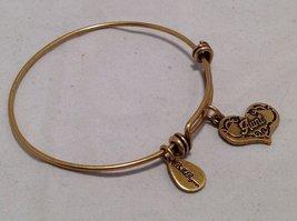 Bella Ryann Gold Aunt Charm Bangle Bracelet