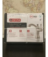 "15757LF-SP Delta Valdosta 4"" Centerset 1/3 Hole Bathroom Faucet Brushed ... - $89.50"