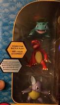 """Pokemon Ivysaur Charmeleon Wartortle 2.5"""" Battle Figure 3 Pack TOMY - $29.81"""